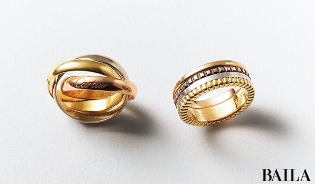 多彩なカラーを重ねた包容力のあるリングは、毎日のスタイルの主軸に【10年計画で楽しむリング①】_1