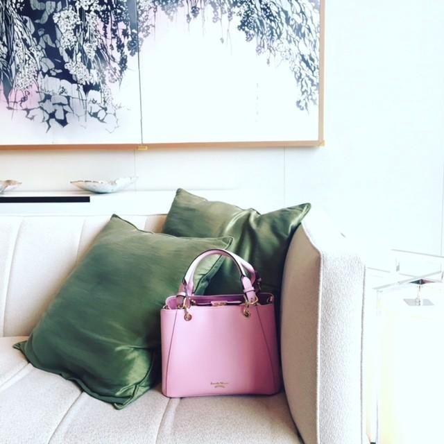 """【数量限定】春色バッグのイチオシはこの""""さくらピンク""""。 伊勢丹新宿店にいますぐGO!_2_2"""