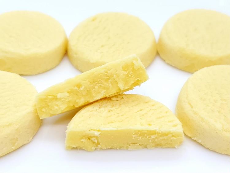 とろけるチョコクッキー瀬戸内レモンの断面