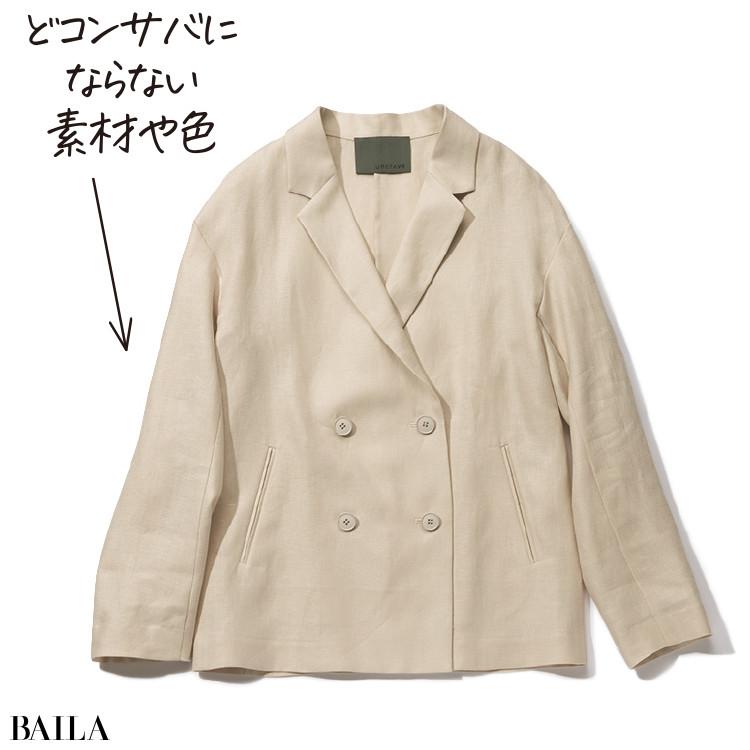 リネンジャケット¥20900/アンクレイヴ