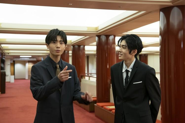 市川染五郎さんと市川團子さんの吉例顔見世大歌舞伎の義経と駿河