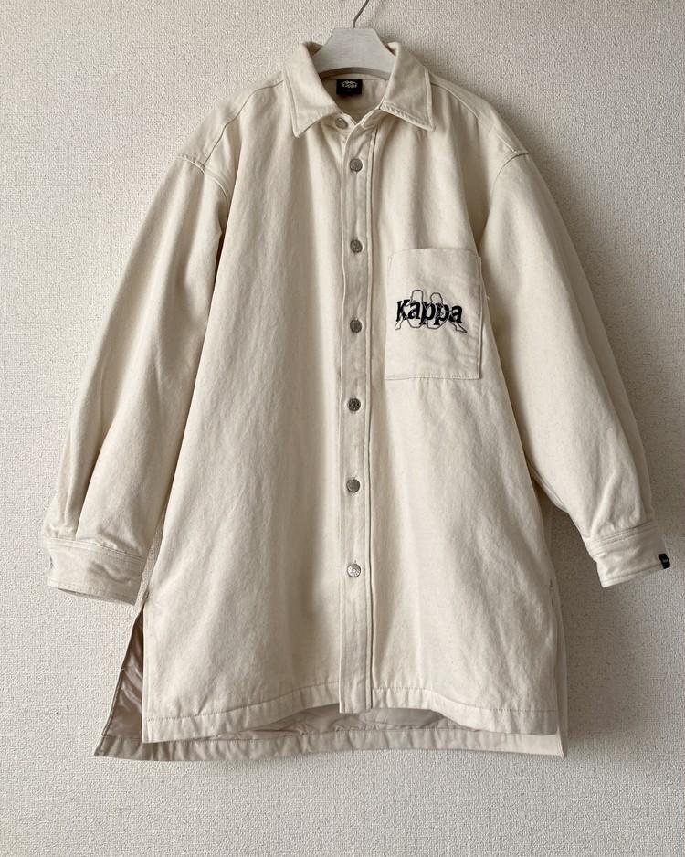 【ジーユー(GU) × カッパ(Kappa)】買ってよかった超人気傑作コラボ メンズ デニムロングシャツ