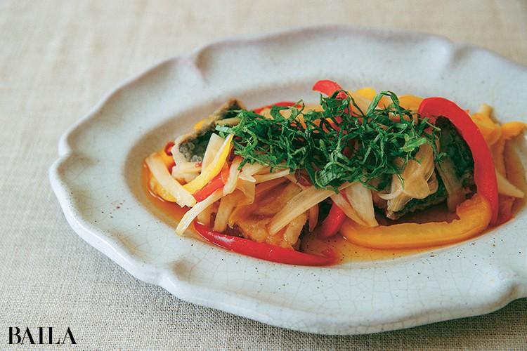 """《さばの南蛮漬け》タンパク質と緑黄色野菜たっぷりの""""サプリ""""なメインディッシュ"""