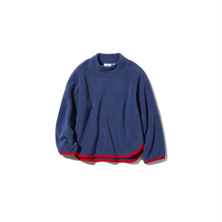 KIDS フリースモックネックプルオーバー ¥1500
