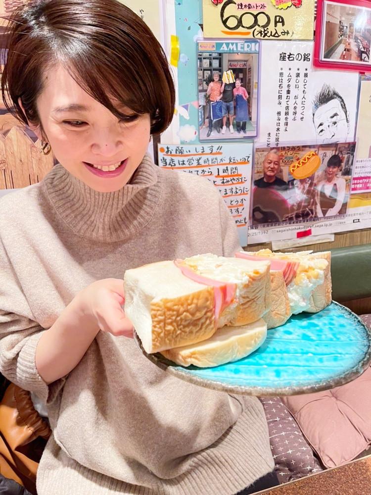 【東銀座】1度見たら忘れられない!ボリュームサンドイッチ_2