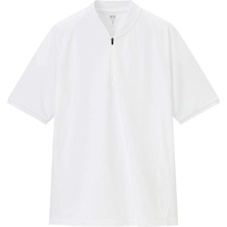 ドライEXカノコハーフジップ ポロシャツ(半袖) ¥1990