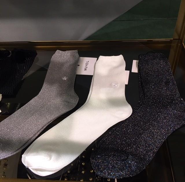 タイツもいいけどブーツもパンプスもソックスブームです♡_2_6