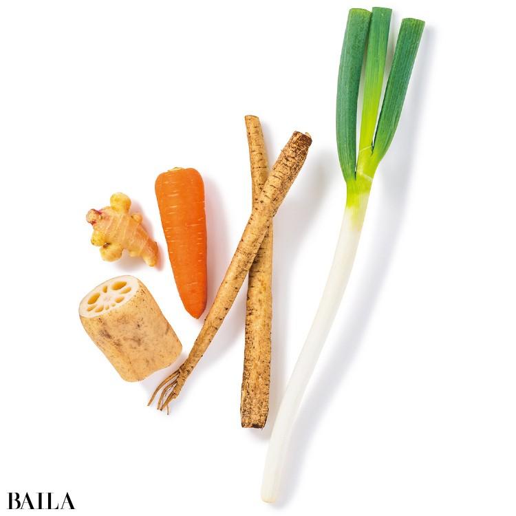 冬が旬の野菜は温め効果大