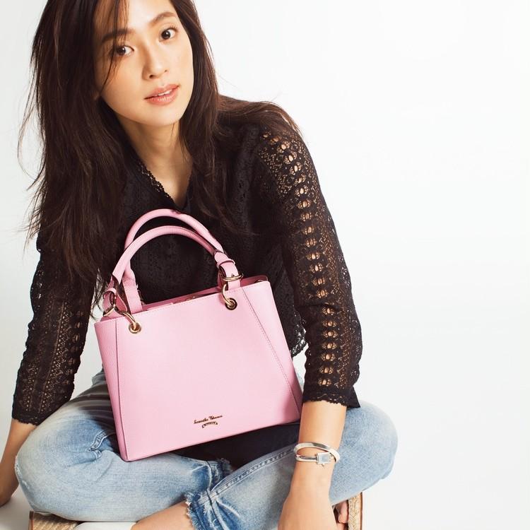 """【数量限定】春色バッグのイチオシはこの""""さくらピンク""""。 伊勢丹新宿店にいますぐGO!_1"""