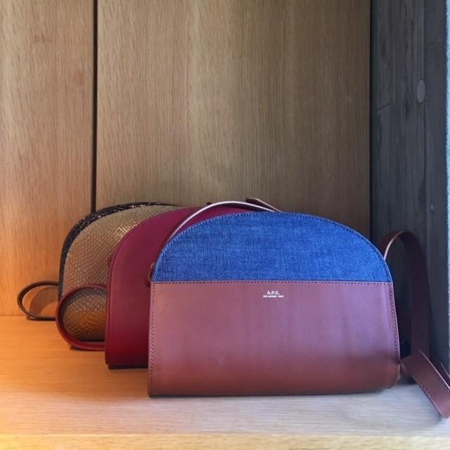 A.P.Cのレザーバッグや小物はデザインも値段も超優秀!_2_1