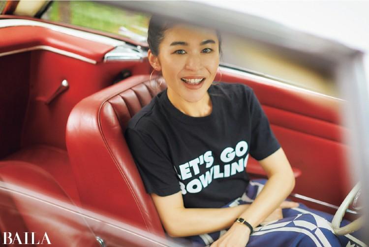 30代のTシャツルール&着こなしテクまとめ【辻直子さんの夏のTシャツ】_1