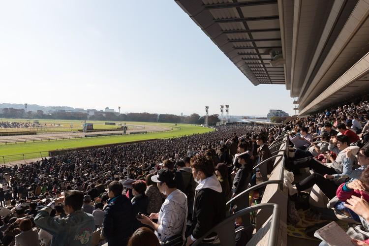 東京競馬場のG1レース観衆
