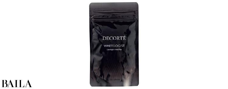 ホワイトロジストオーバーナイトインナープラス120粒(約30日分)¥7500/コスメデコルテ