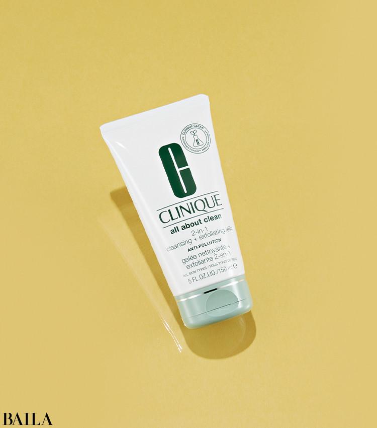 6/11 FRI.発売 【CLINIQUE】「洗顔とディープクレンジングを一本でこなすマルチ洗顔料」(編集U)