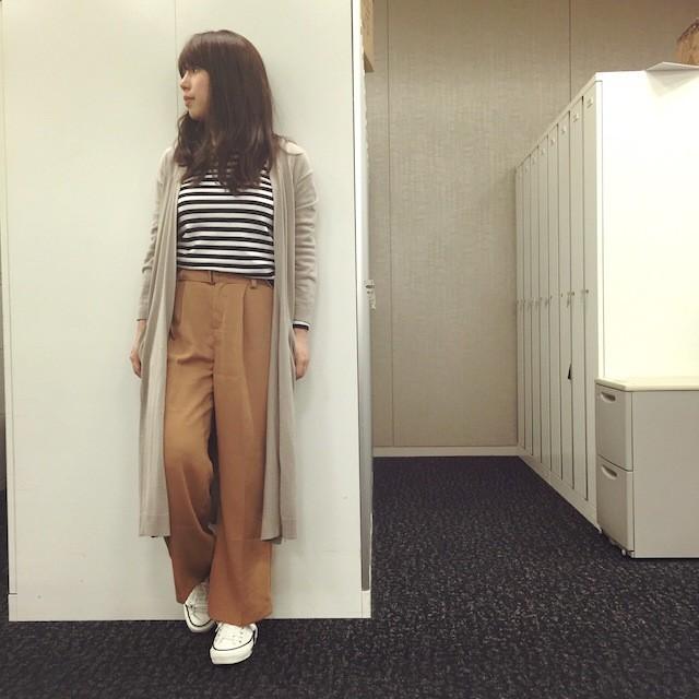 【#OOTD】編集MはKOEのワイドパンツで出勤!_1