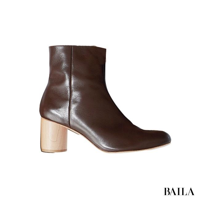 【ブーツ】この秋いちばん使えるから売れてるのはブラウン&太ヒール!_1_3