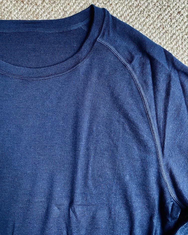 【ワークマン(WORKMAN)】メリノウール使用¥1900長袖丸首シャツ&前開きロングタイツ