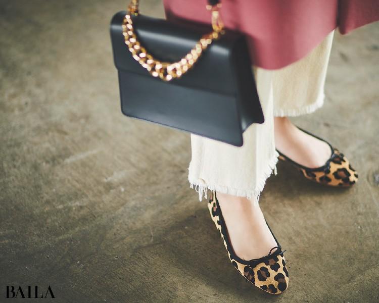 フラット靴