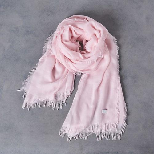 白とグレーの爽やかパンツコーデは、淡ピンクストールで春をひと匙♡_8