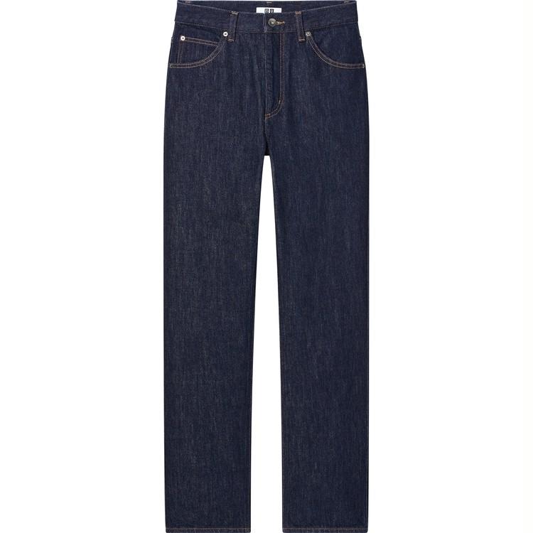 レギュラーフィットストレートハイライズジーンズ ¥3,990