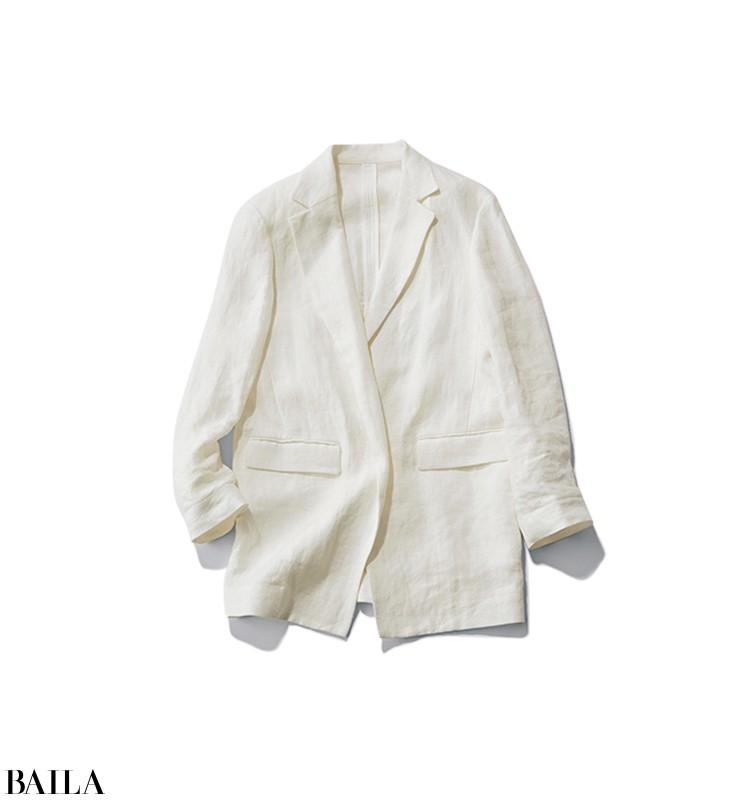 英会話の授業がある日は、カジュアルなパンツに初夏らしいジャケットを【2020/5/30のコーデ】_2_2