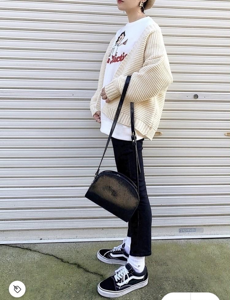 【コーデ画像】重い冬コートからチェンジ!春色あったかカーディガンを着よう♡_5
