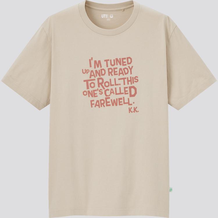 あつまれ どうぶつの森 UT グラフィックTシャツ(半袖・レギュラーフィット) ベージュ