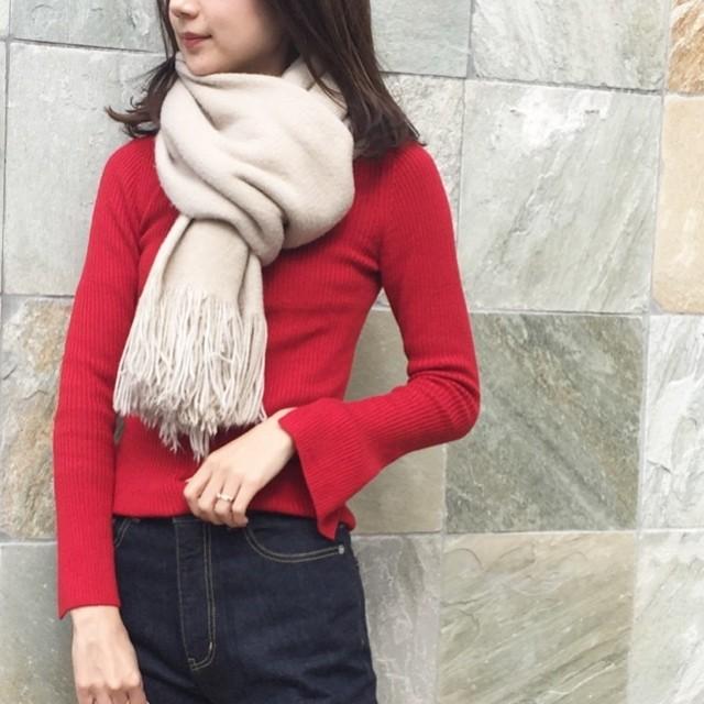 〝赤〟を大人可愛く着るマイルール_2