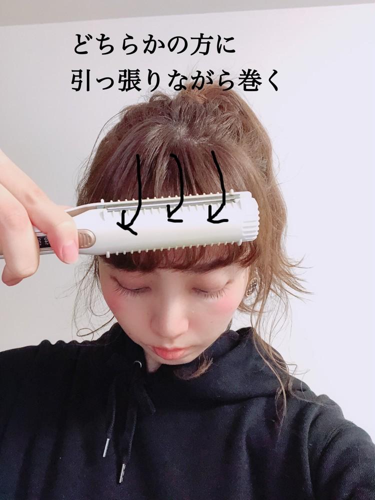 大人のポニーテールの作り方☆ポイントは「あざと毛」_4