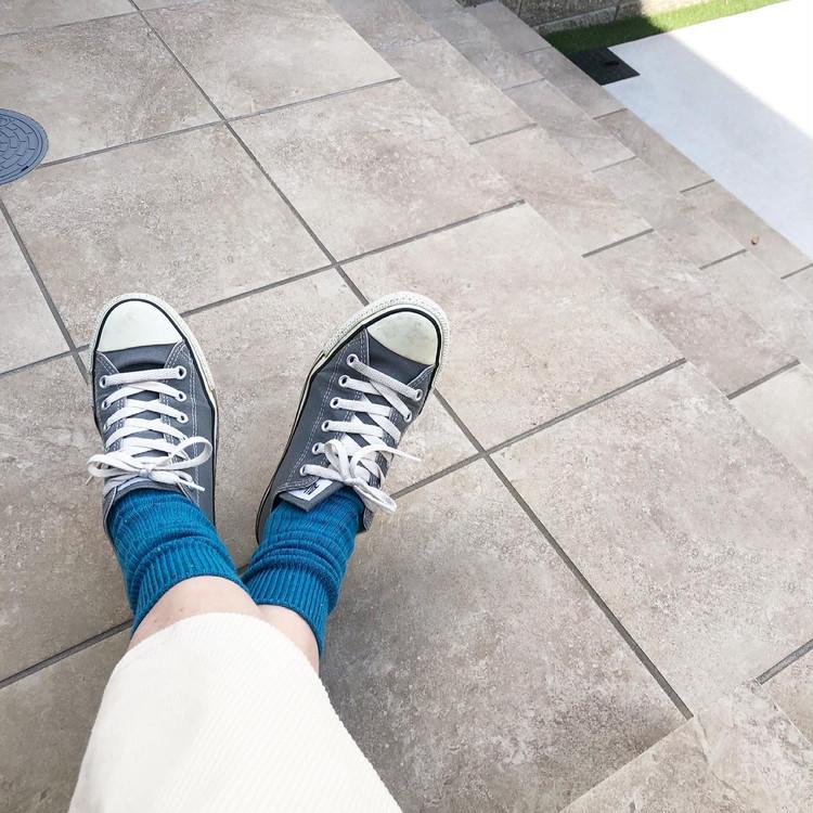 春に使えるUNIQLOのカラー靴下がかわいい‼︎_2