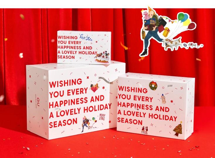 【ジーユー(GU)】クリスマス向けプチプラギフトがそろうホリデイキャンペーン開催中 ギフトボックス