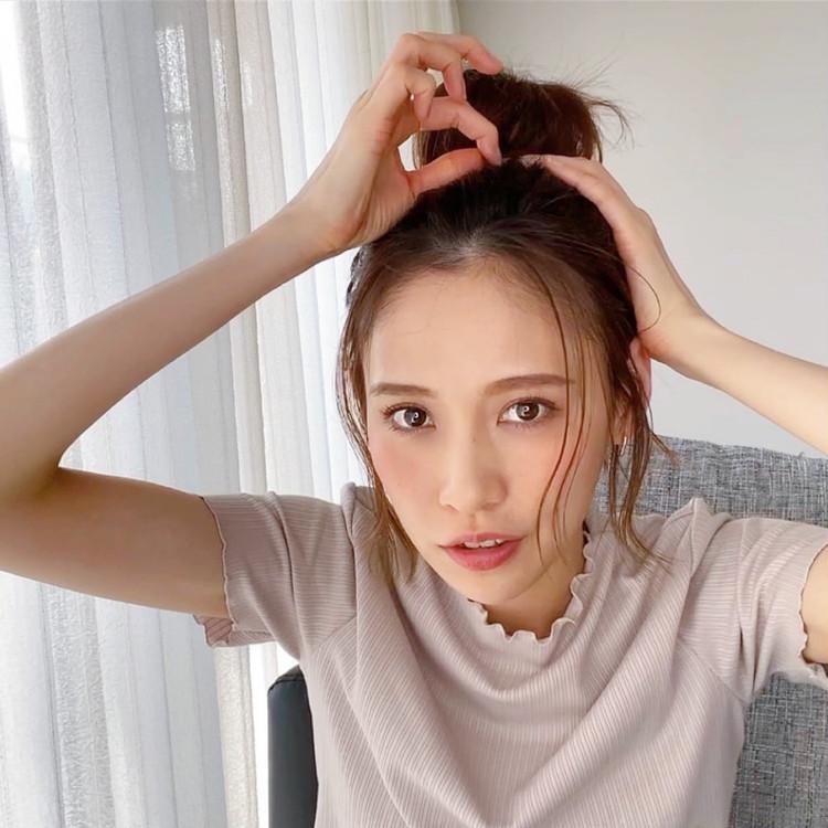 【動画】ショートボブでもできるお団子ヘアアレンジ!_1