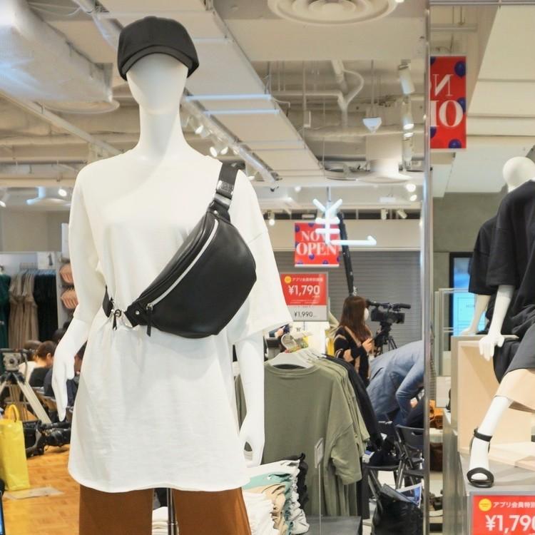 ¥1500以下【ジーユー(GU)】で買うべき新作トレンドバッグはウエストバッグ&サコッシュ!_2