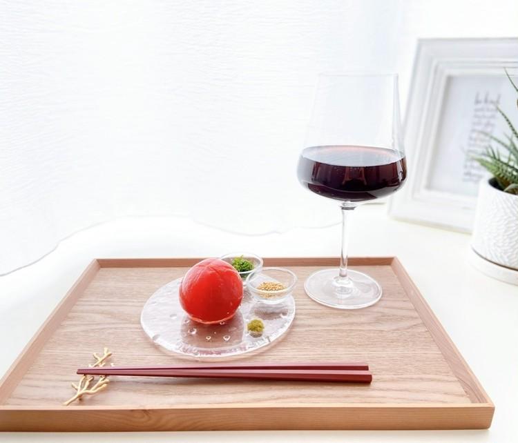おうち時間におつまみレシピ!まるごとトマトの浅漬けでおうち居酒屋