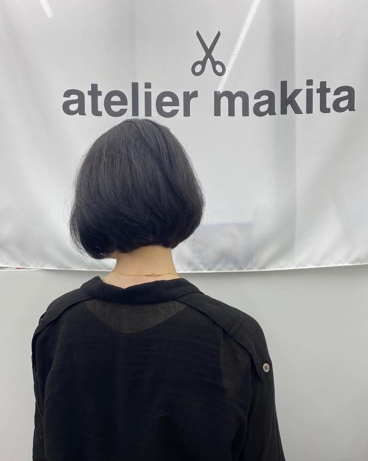 髪型変えて、気分転換(^^)_1