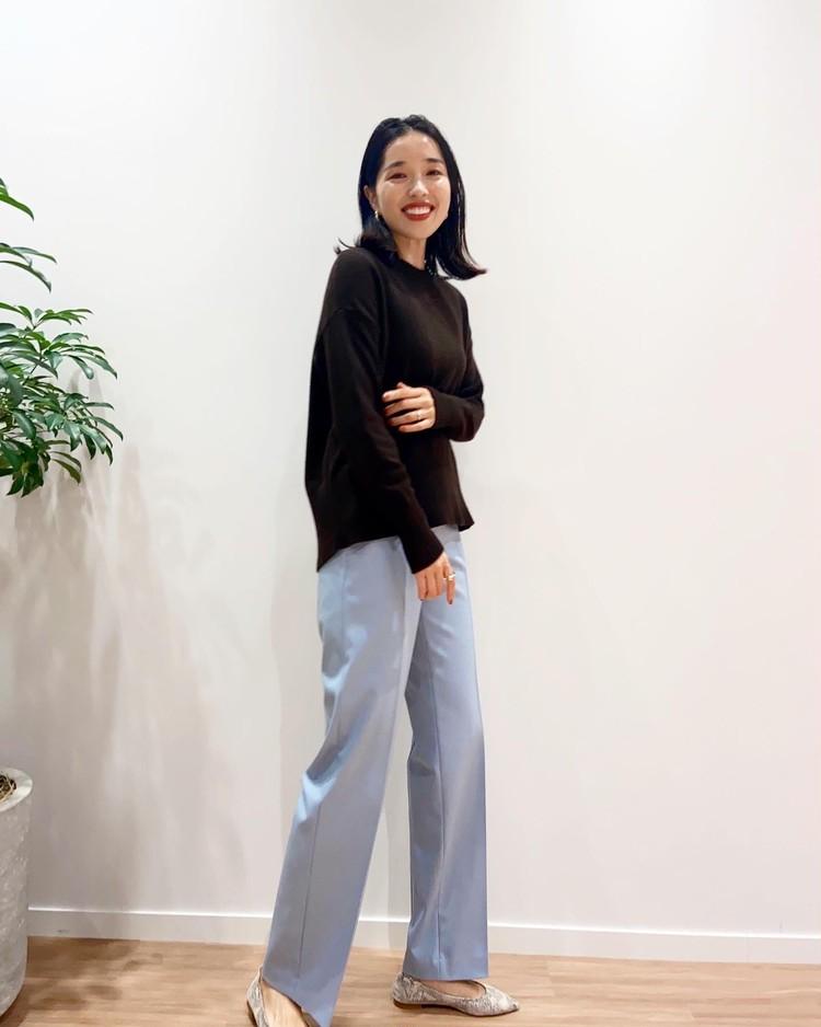【美脚コーデ】着痩せ大賞で話題のPLSTパンツを履き比べ大会!_1
