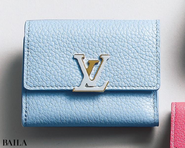 ルイ・ヴィトンの財布「ポルトフォイユ・カプシーヌミニ」