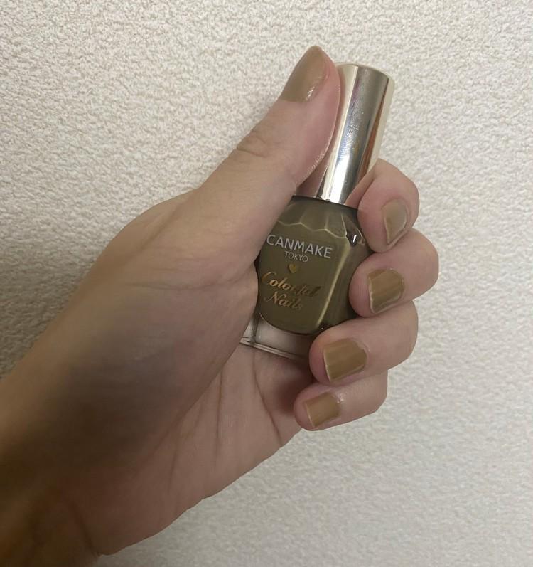 【秋ネイル】キャンメイク_2