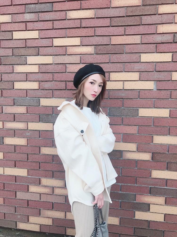【BAILA 12月号】GU CPOジャケットサマ見え❤︎_10