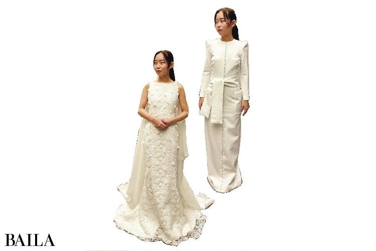 白無垢はレンタルで、こちらも4店舗で10着を試着!