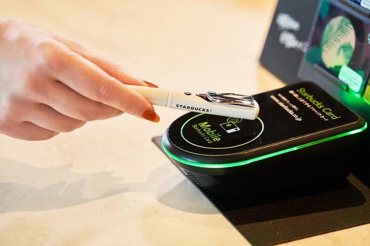 ボールペンで【スターバックス(スタバ)】が買える非接触決済機能(Felica)搭載「STARBUCKS Touch The Pen(スターバックス タッチ ペン)」