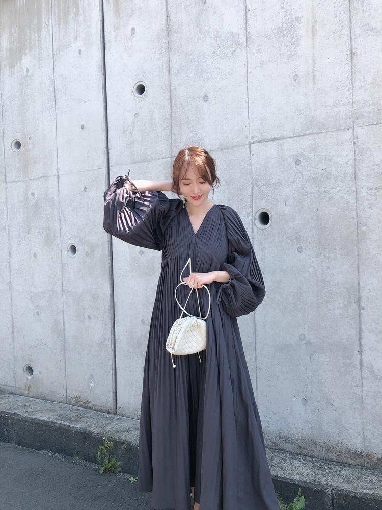 【BAILA 5月号】モノトーンワンピース♡_5