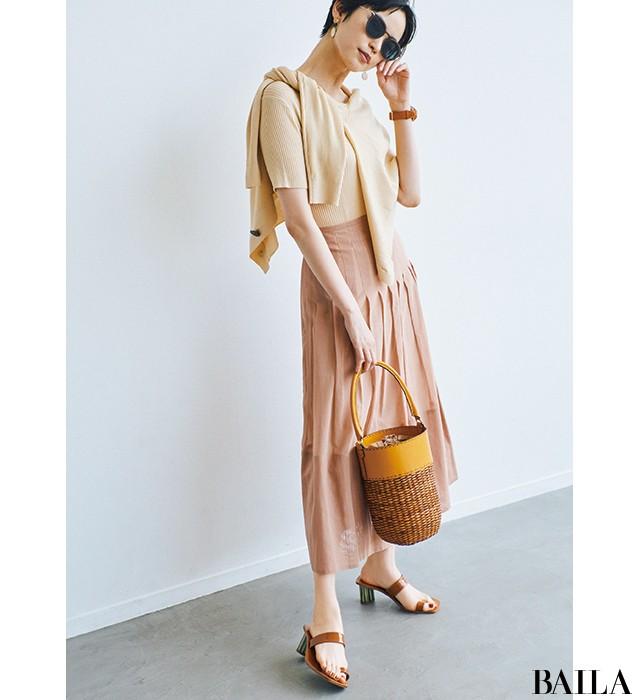 【2019年かごバッグまとめ】夏のファッションを彩る最旬マストアイテム!_15