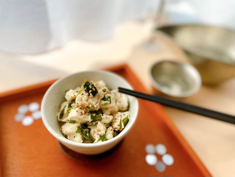 おうち時間に簡単おつまみレシピ! ビールに合う包丁いらずのくずし豆腐_1