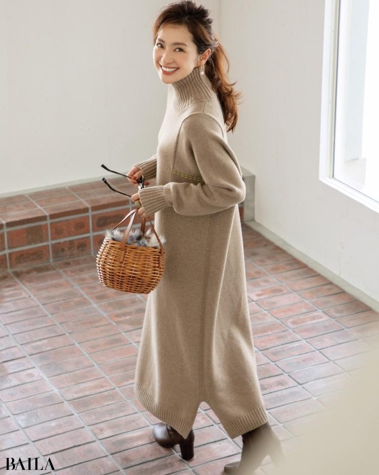 【ゆったりニットまとめ】着やすいミドルゲージニットで、冬おしゃれを楽しもう!_10