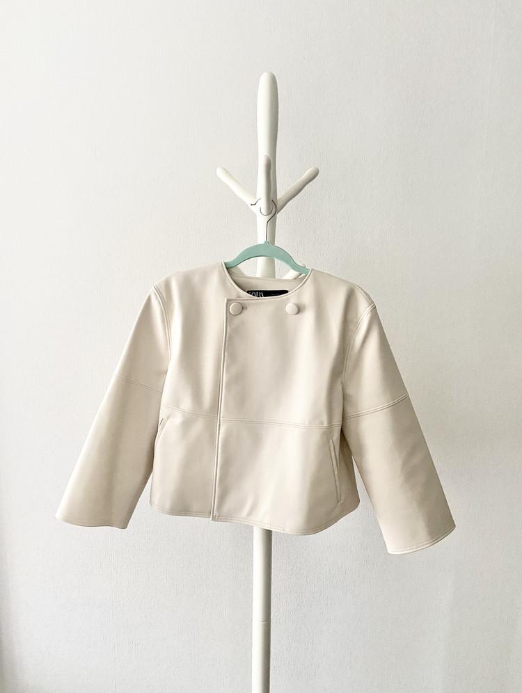 【ZARA】完売まちがいなしのザラ春物!新作ジャケットはかわいさとスタイルアップ抜群です【155cmコーデ】 _1