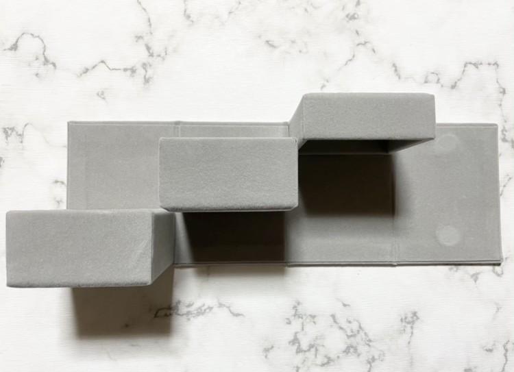 アクセサリー収納ケース2段(開き)