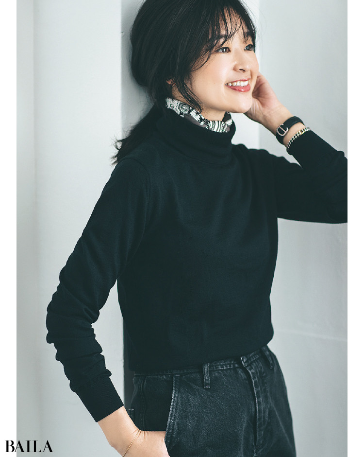 【30代スタイリストが私服でアンサーまとめ】リアルだから役に立つ。その冬服はもっと素敵に着られる!_25