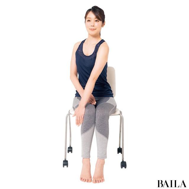 オフィスでできる!3筋肉を鍛えて姿勢美人【姿勢で-2kgヤセ見え⑨】_1_3