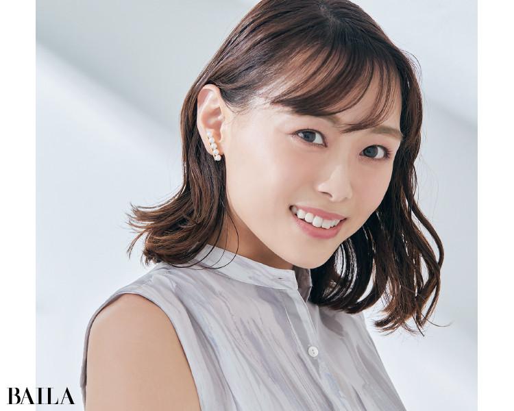 西田茉衣さん EARRING |TASAKI